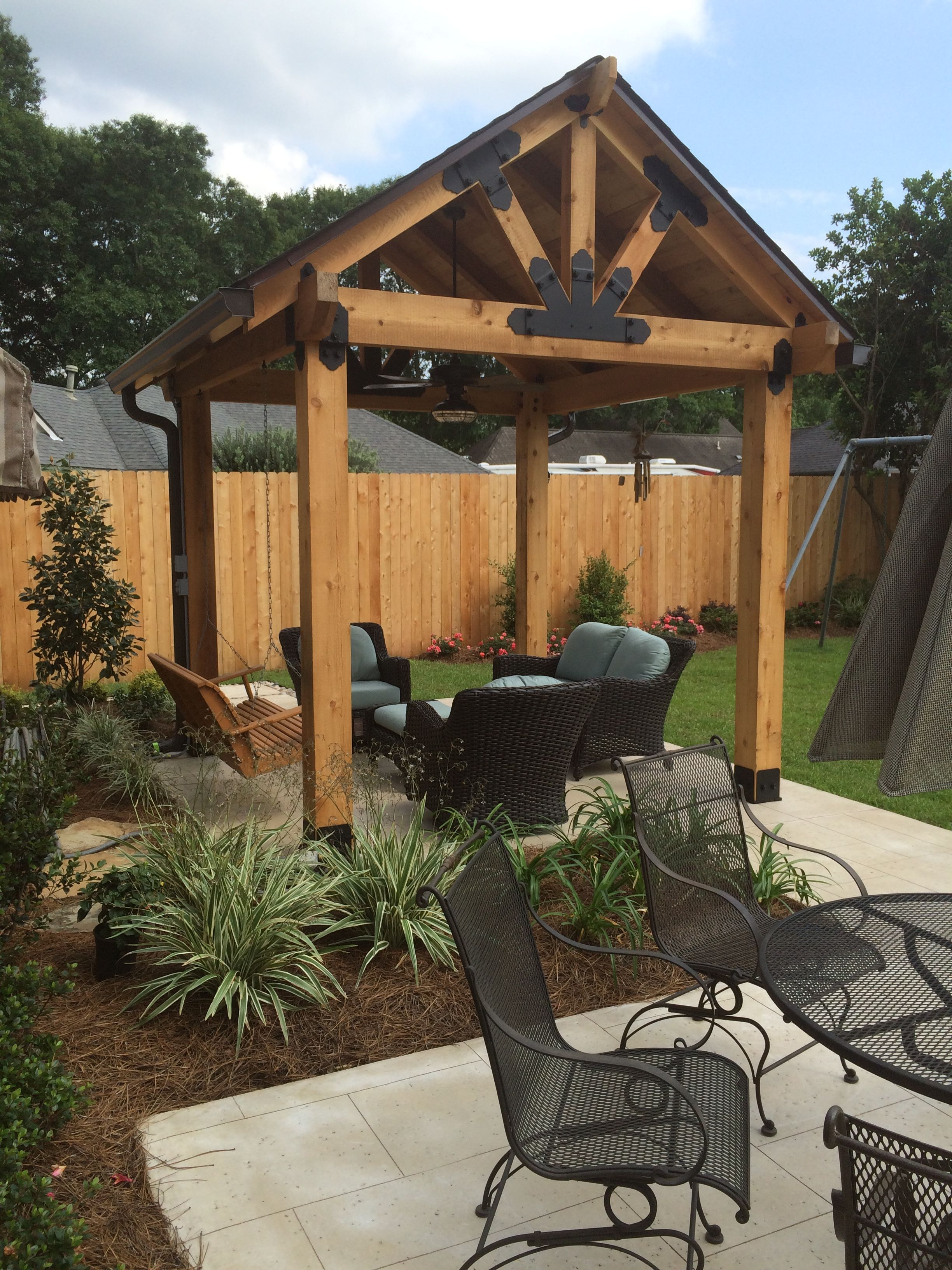 make your outdoor space owtstanding with ozco building products rh pinterest com