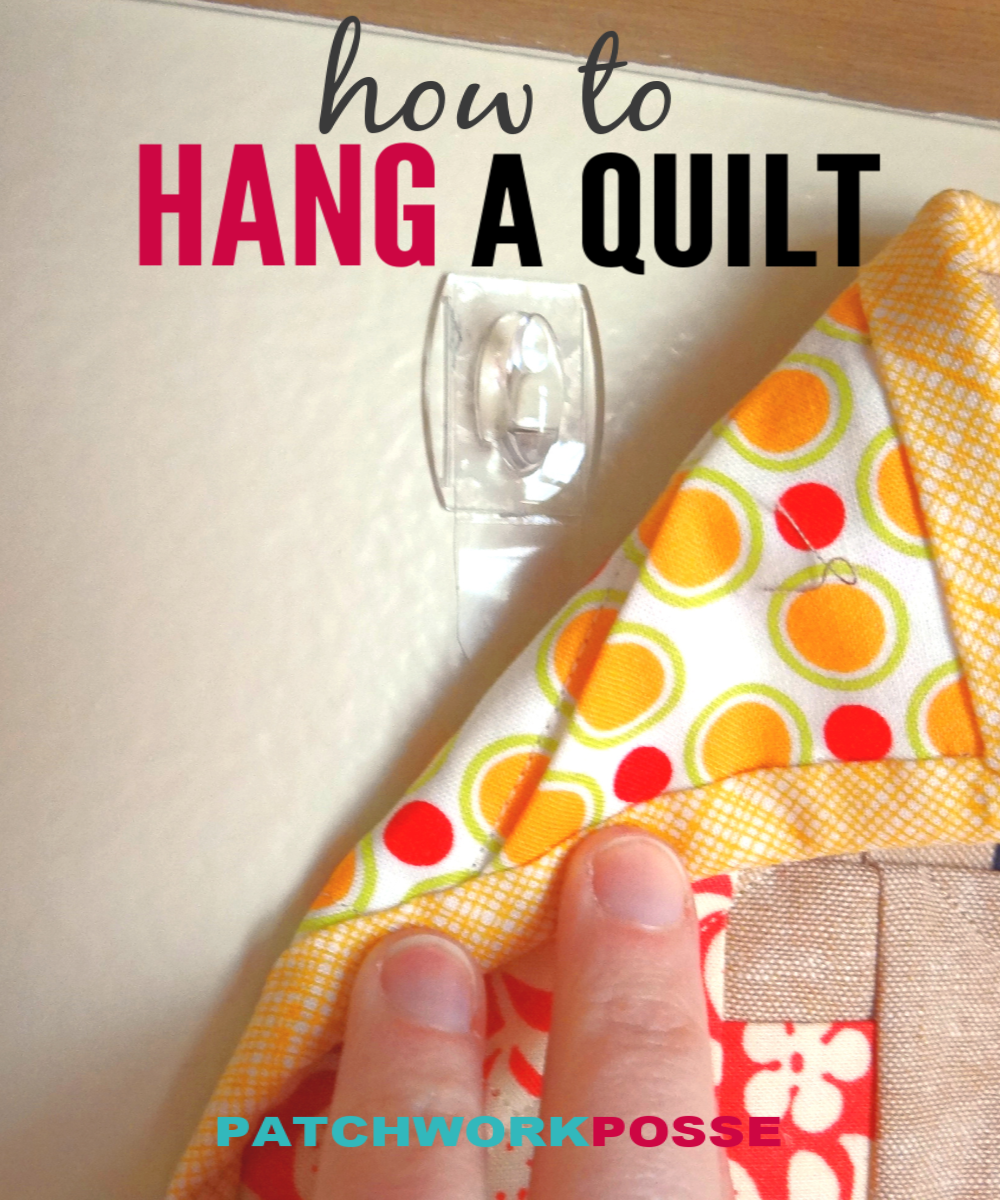 How To Hang A Mini Quilt Quilt Hangers Mini Quilt Patterns