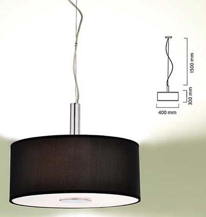 L mpara decorativa colgante de la l nea black marca for Lamparas colgantes minimalistas