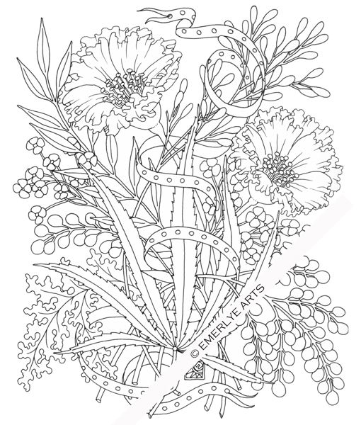 cynthia coloring pages - photo#29