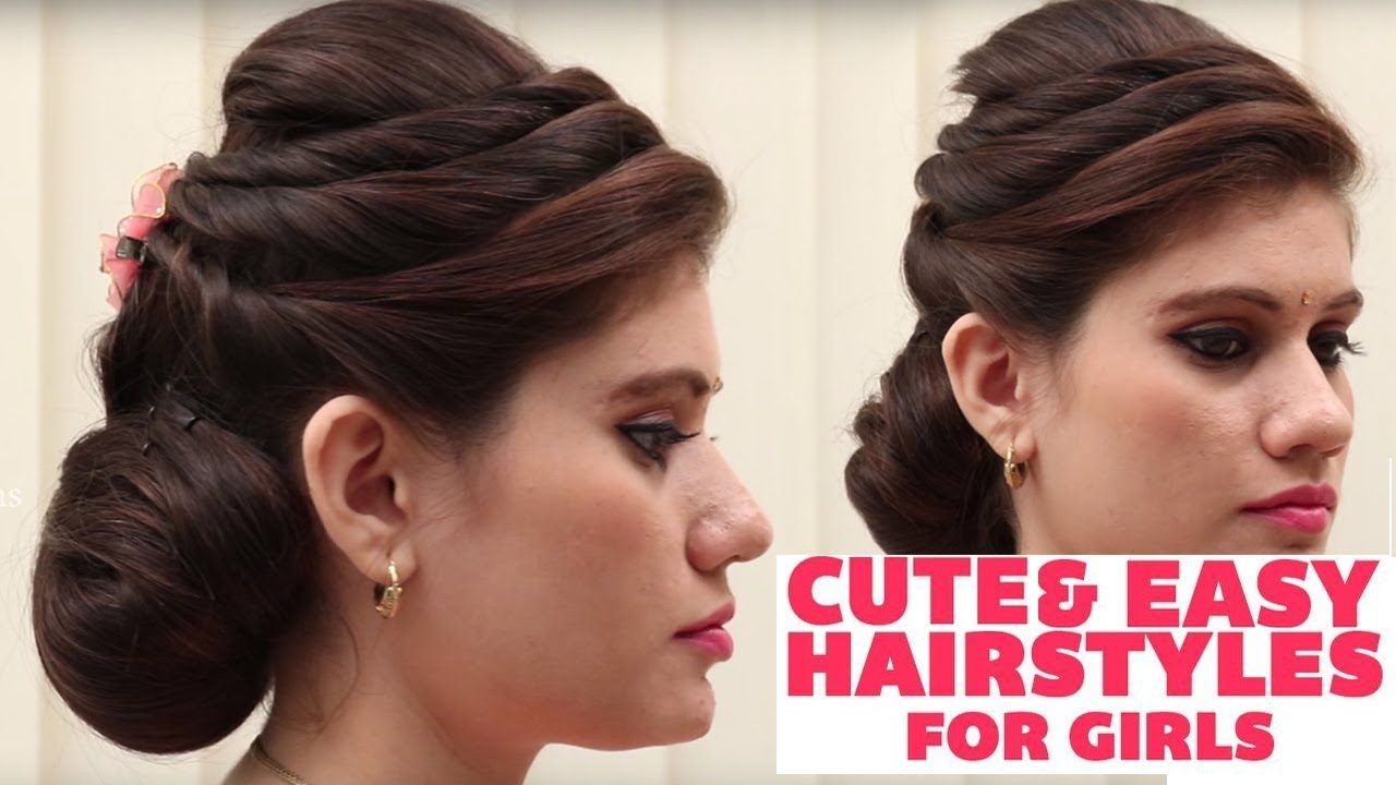 cute & easy hairstyles for girls 2018 || latest hairstyles