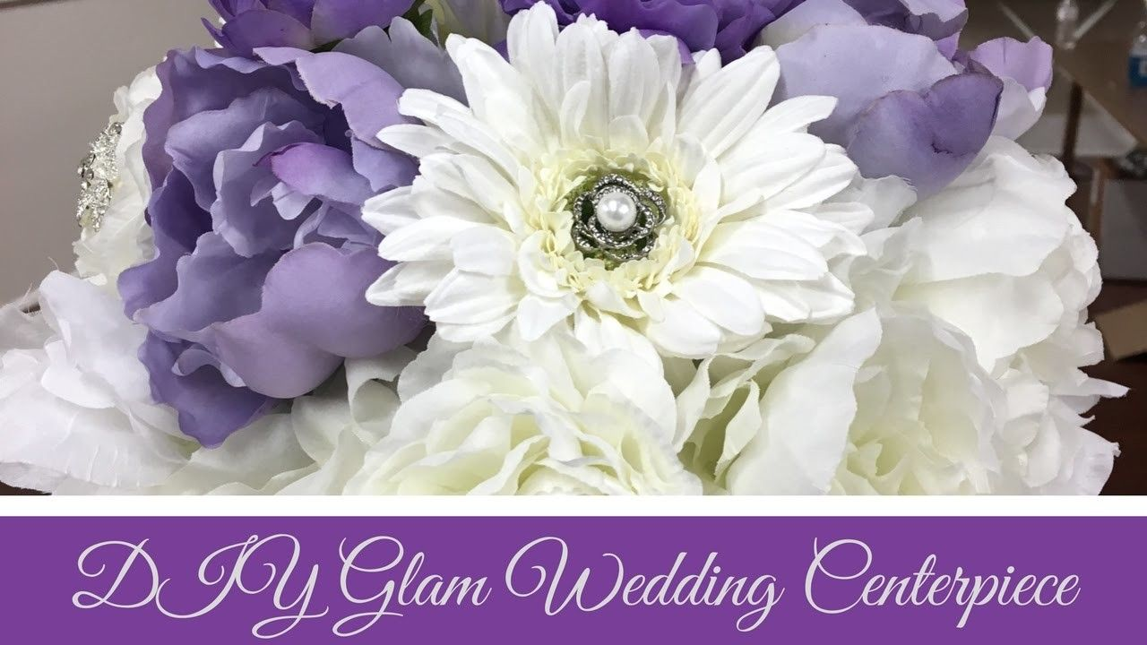 DIY Glam Wedding Centerpiece | Wedding centrepieces, Centrepieces ...