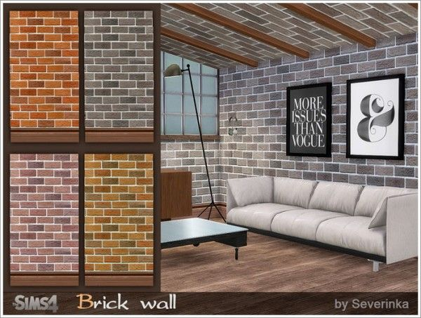 Sims By Severinka Sloping Ceiling Sims 4 Downloads Sims Sims House Sims 4