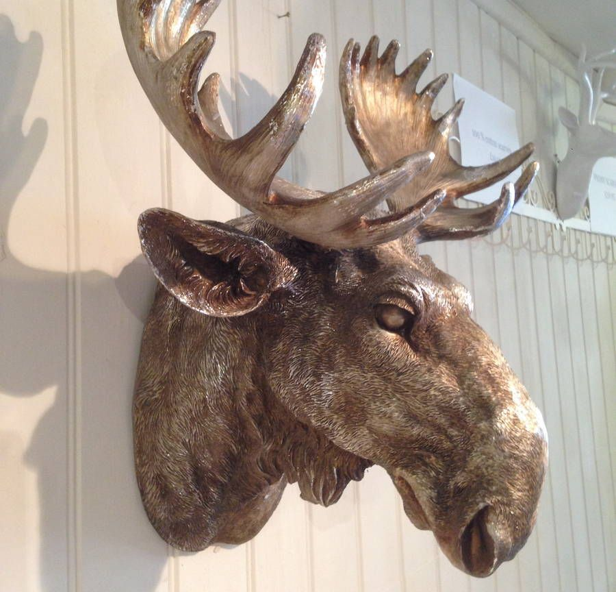 41 Popular Wall Mounted Moose Head Moose Head Wall Mount Moose Head Decor Moose Head