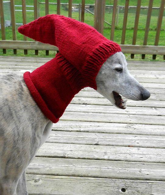 Greyhound Snood Knitting Pattern