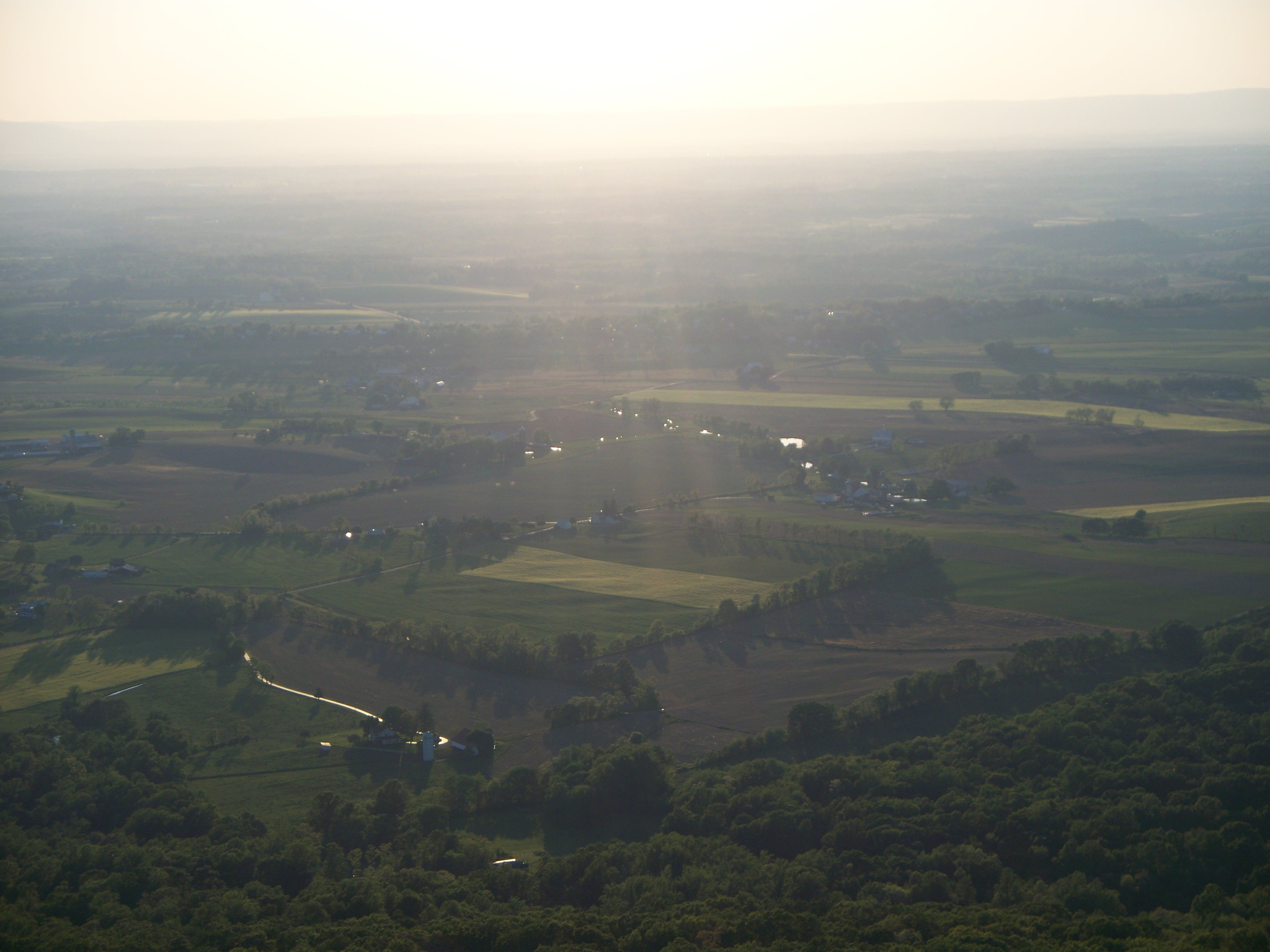 View from High Rock overlooking the Maryland