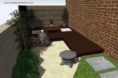 Best Simple Japanese Garden Design Cadagucom With Japanese Garden Ideas.