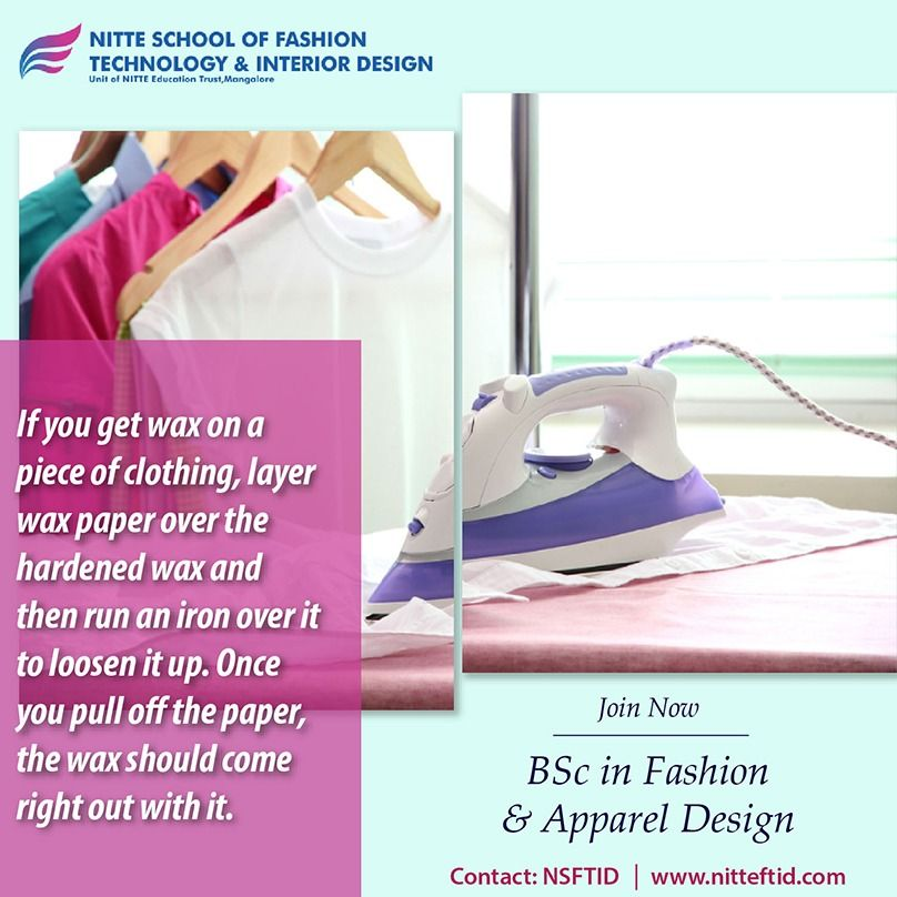Do You Think Of A Career In Fashion Designing Nitte Has Highly Qualified Professors Who Can Cra Career In Fashion Designing College Design Technology Fashion