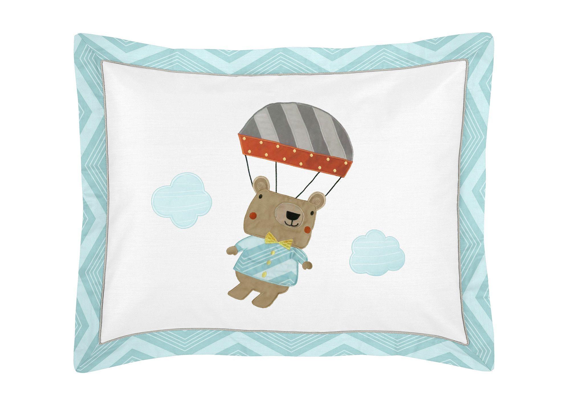 Balloon Buddies Standard Pillow Sham