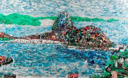 rio + 20 arte reciclavel