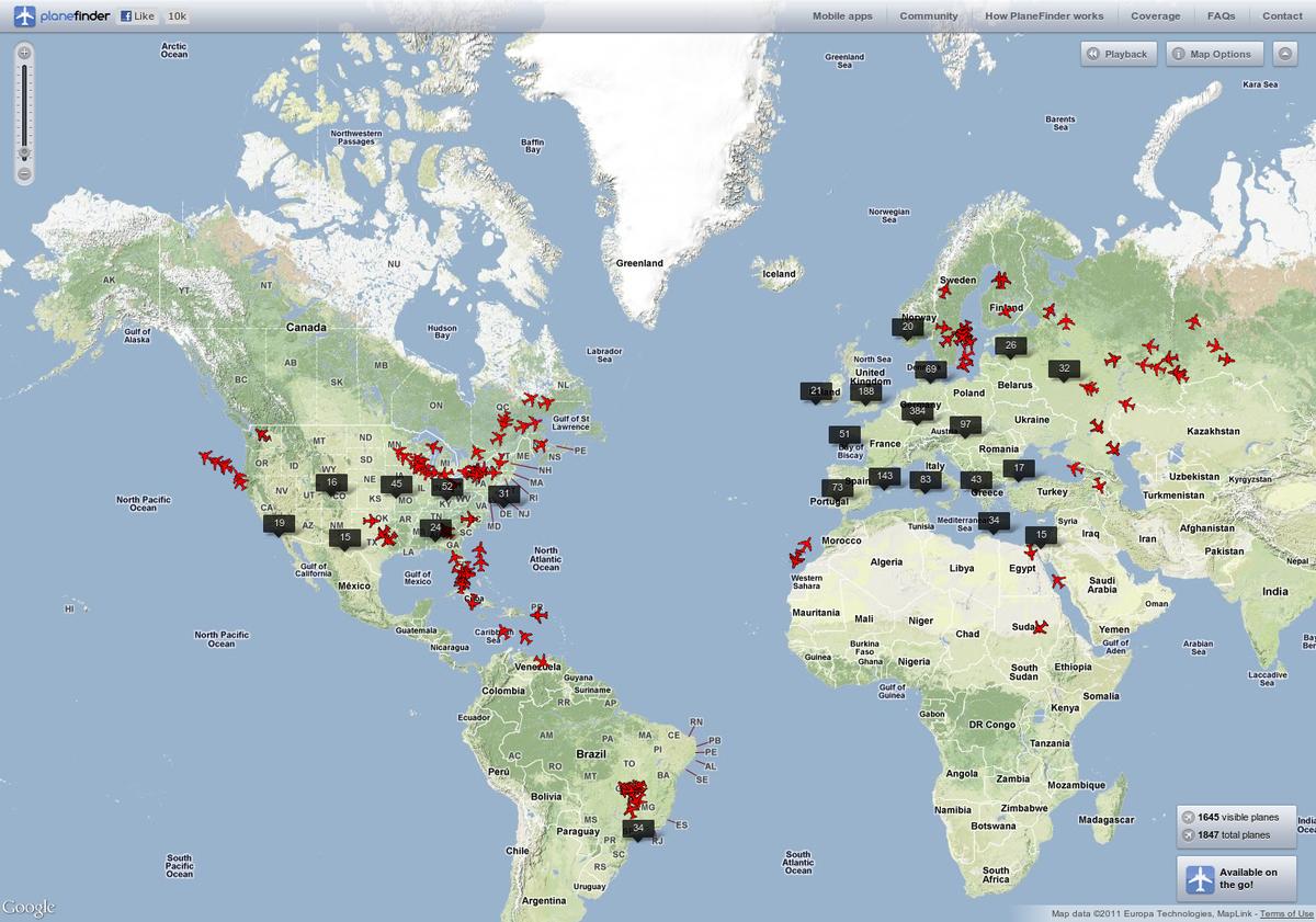 Itineraries around the world ticket LA