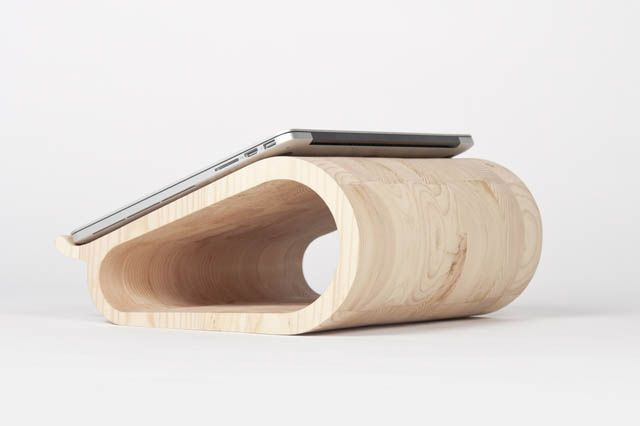 Vool ~ The Wooden Laptop Stand