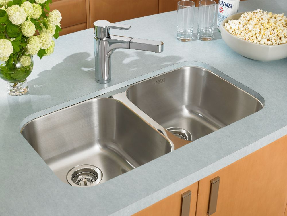 homestyle 2 0 undermount stainless steel sink products in 2019 rh pinterest com