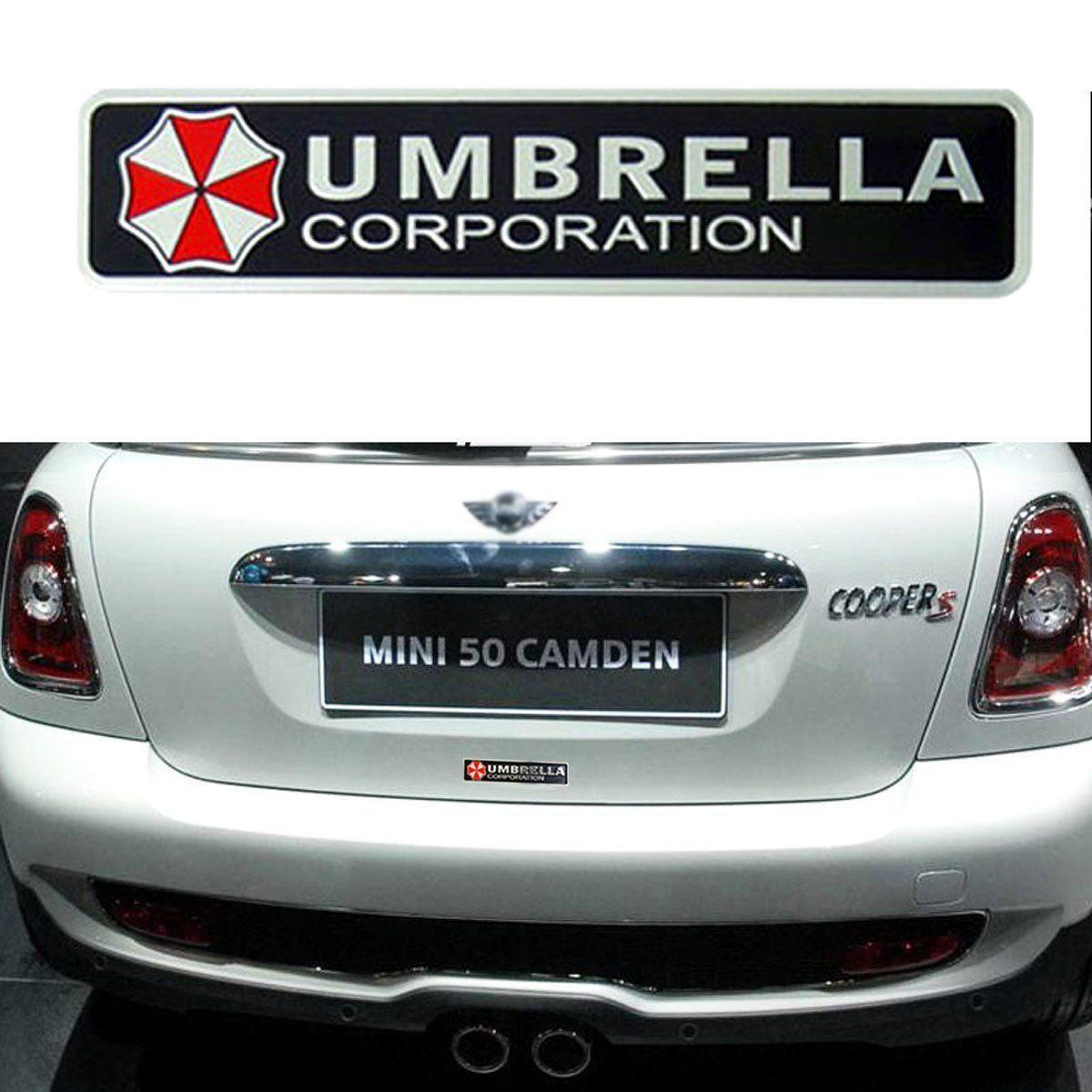 Resident Evil Umbrella Corporation Car Vinyl Whole Body Graphic Decal Sticker Wish