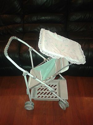 Vintage 1980 S Maclaren Dreamer Dolls Buggy Pushchair Pram