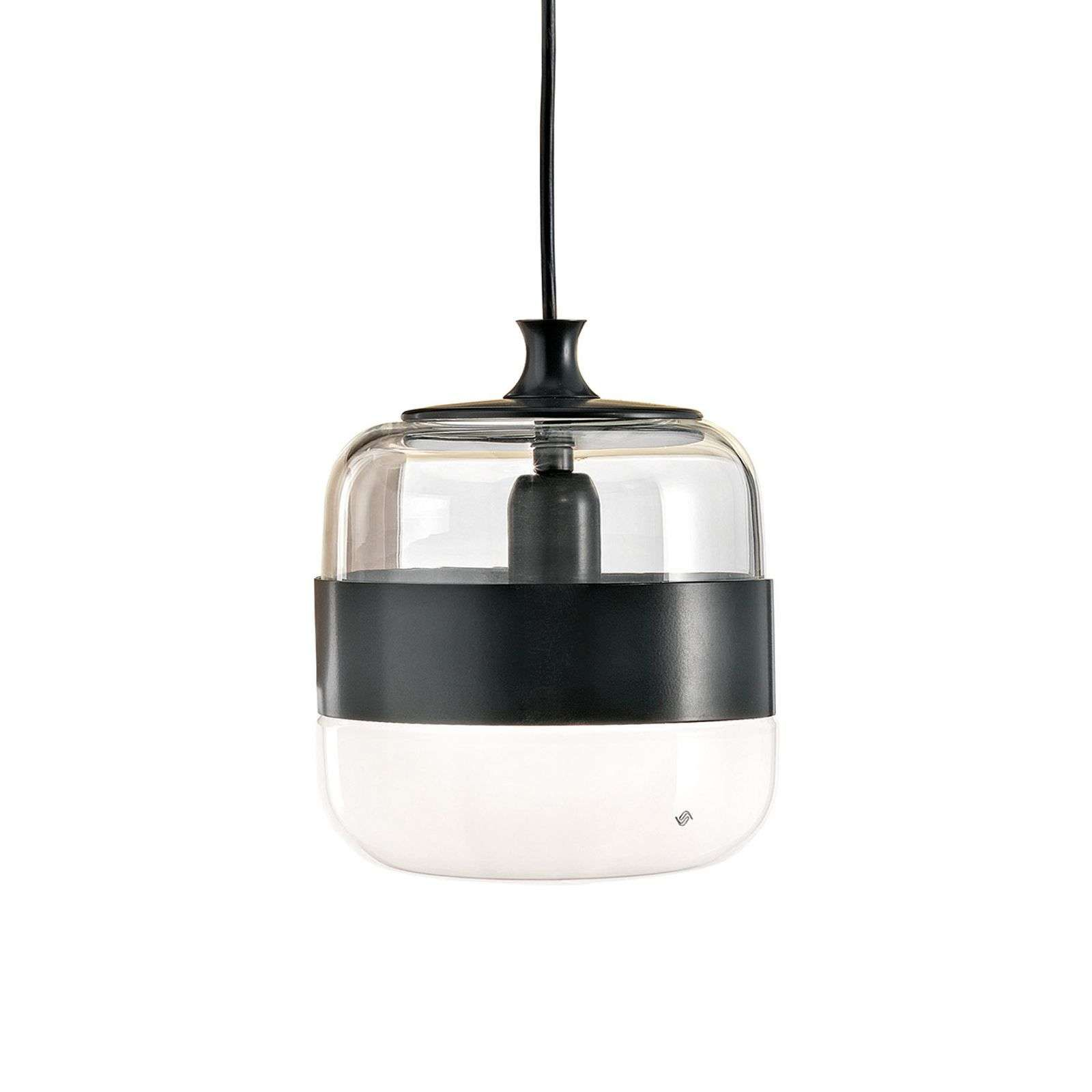 Suspension designer Futura verre de Murano, 20cm