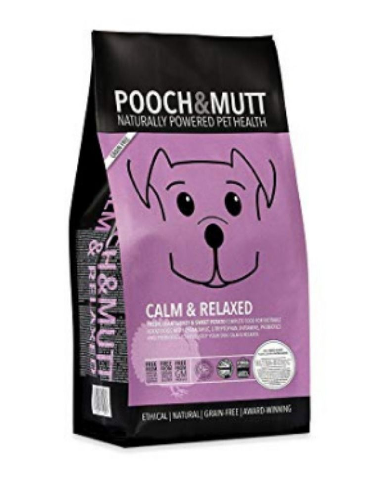 Pooch Mutt Complete Dry Dog Food Calm Relaxed Grain Free 100 Natural Turkey Sweet Potato Grain Free Dog Food Dog Food Recipes Premium Dog Food