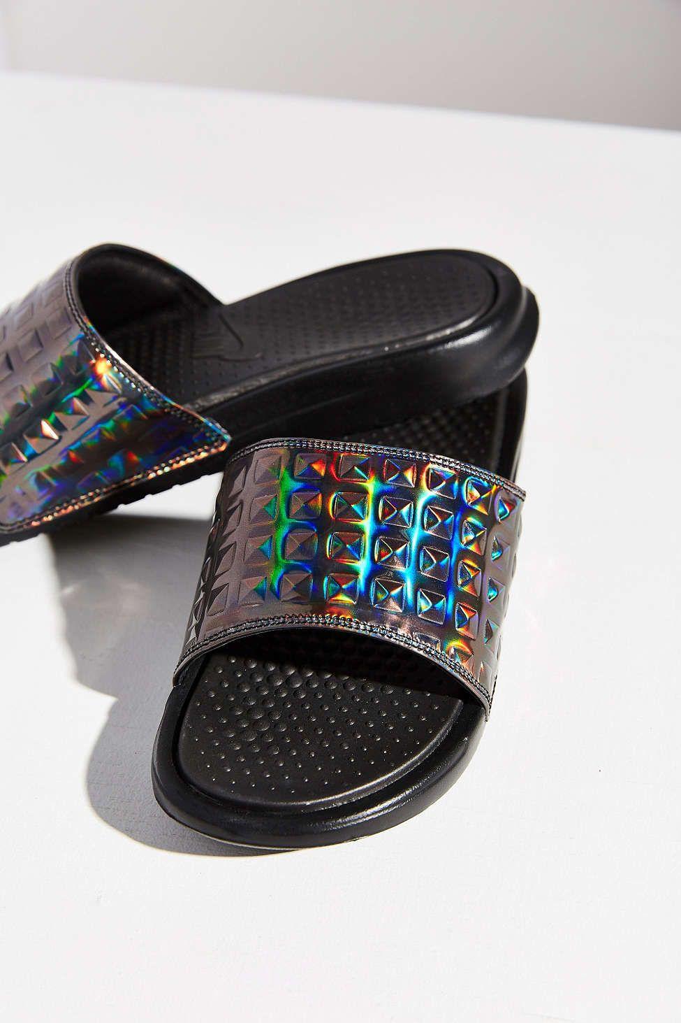 Nike Benassi Ultra Premium Women's Slide Black QN5130665