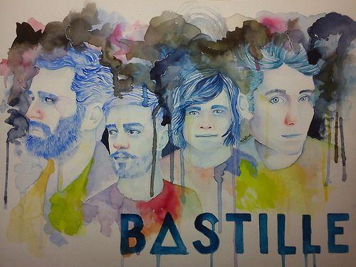Bastille fan art