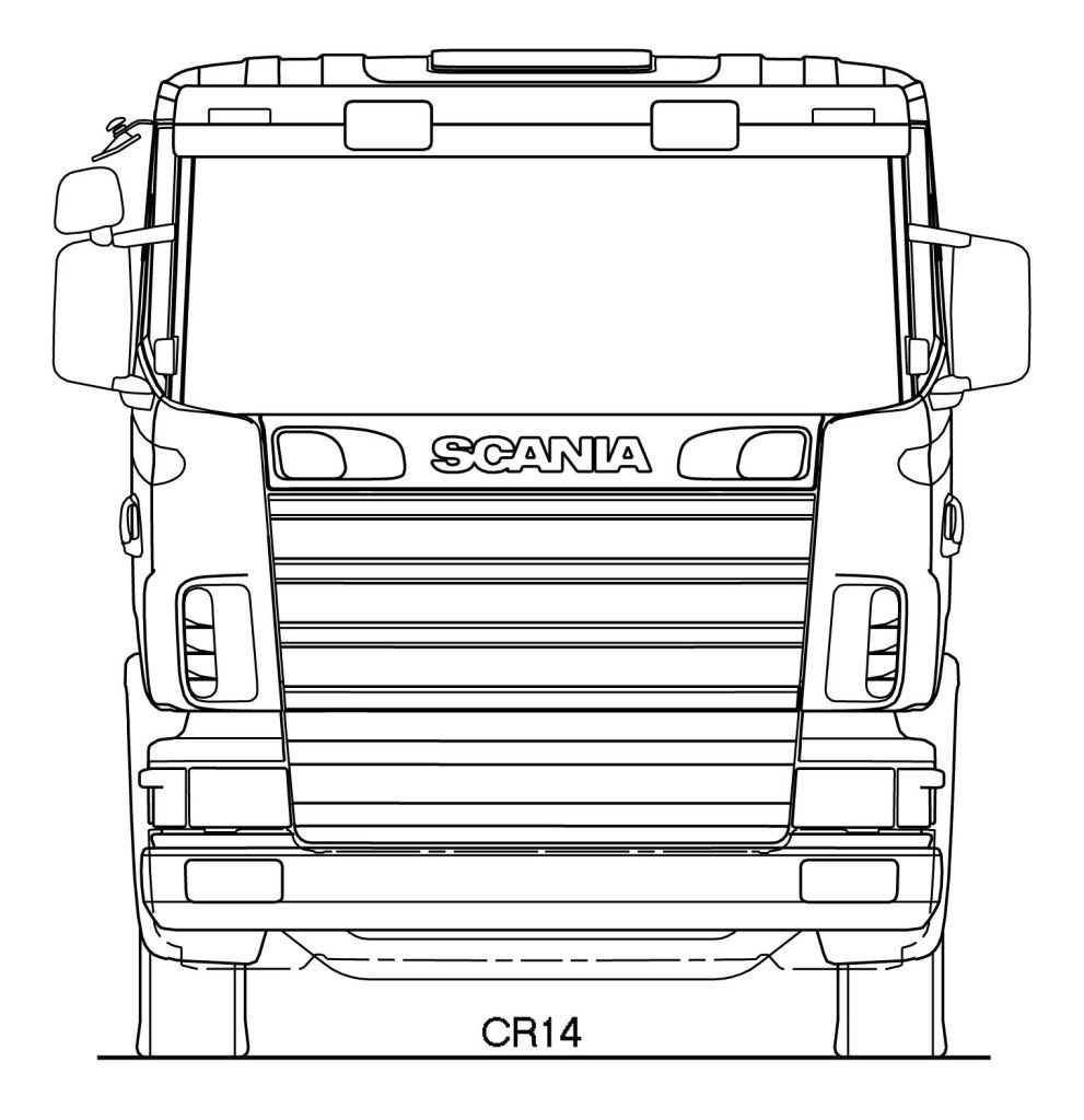 Scania R Series Blueprint Download Free Blueprint For 3d Modeling In 2020 Wooden Toy Trucks Blueprints Truck Diy