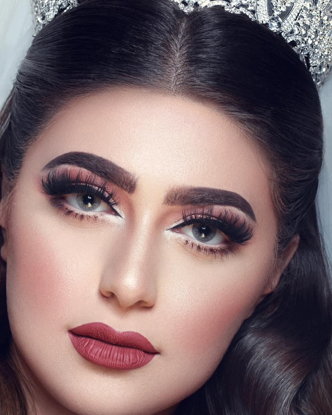 تفاصيل لوك عروستي الانيقه Simple Makeup Girls Makeup Bridal Makeup