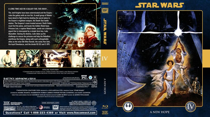 Star Wars Collection Star Wars Episode Iv A New Hope Efx Coverart Gallery Star Wars Episode Iv Star Wars Episodes Episode Iv