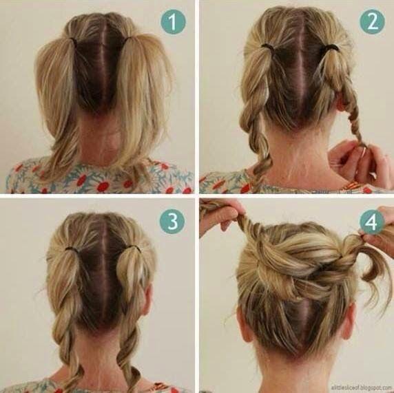 Peinados recogidos para hacer en casa