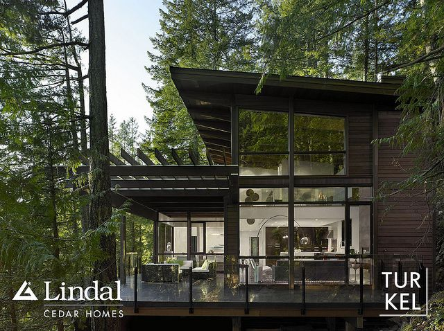 Exterior view. by Lindal Cedar Homes, via Flickr