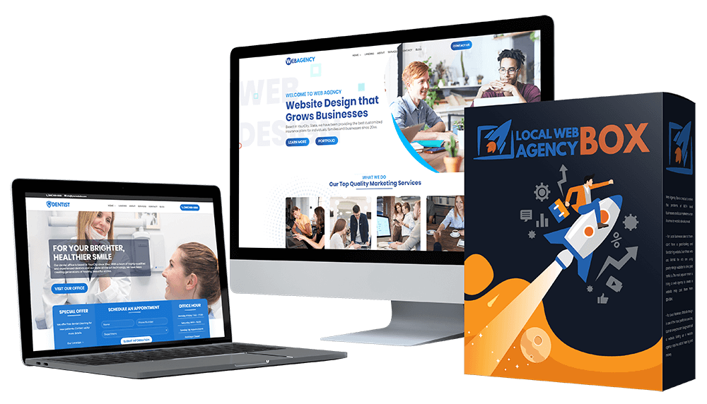 Web Agency Box Otos In 2020 Business Website Design Skills Professional Website Design