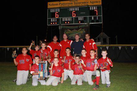Congrats 10u Wt Falcons Washington Town Little League 10u Baseball Team Baseball League Little League League