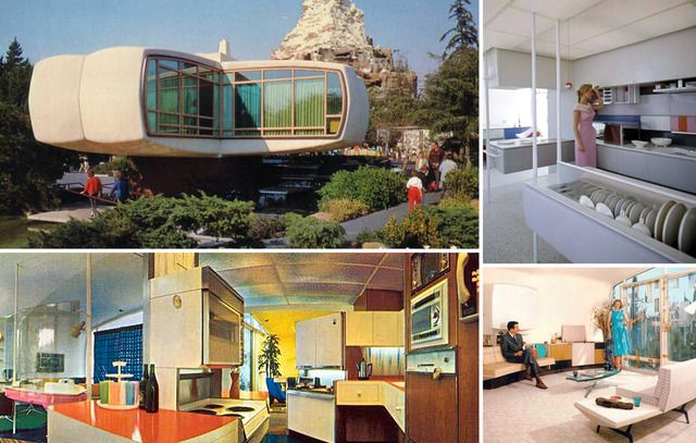 1957 Monsanto House Of The Future At Disneyland I Remember This