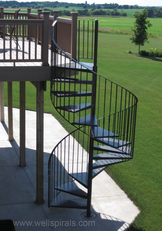 Best In A Unique Twist This Elegant Spiral Stairway Comes Off 400 x 300