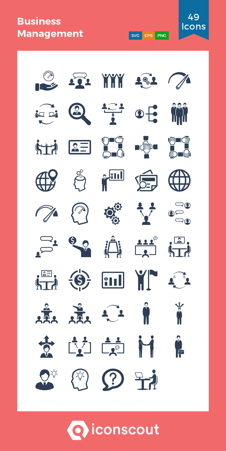 Download Business Management Icon Pack Available In Svg Png Eps Ai Icon Fonts Icon Business Management Business Icon