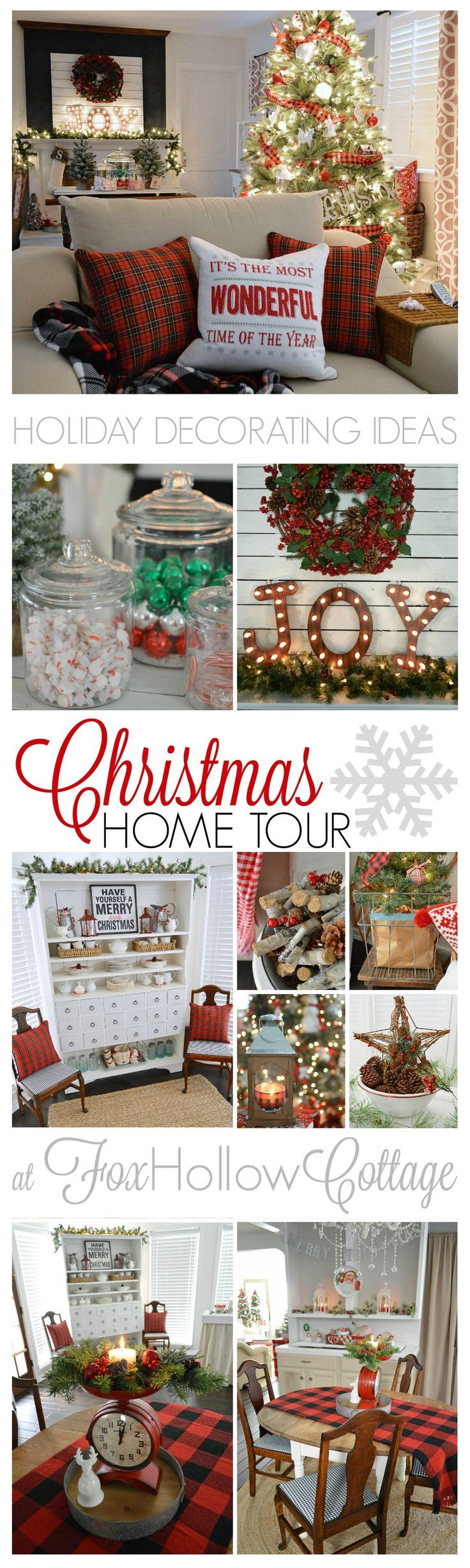 cottage christmas home tour with country living christmas rh pinterest co uk