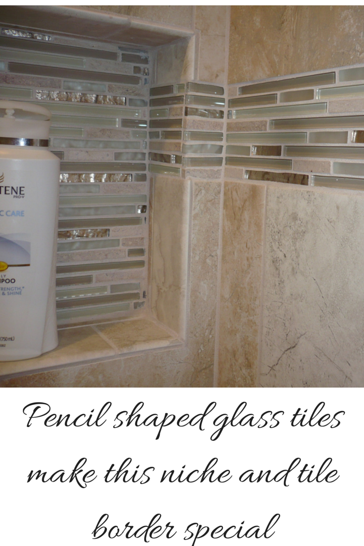 Decorative Pencil Tile Endearing Colored Glass Block Wall Provides A Stylish And Durable Design Ideas