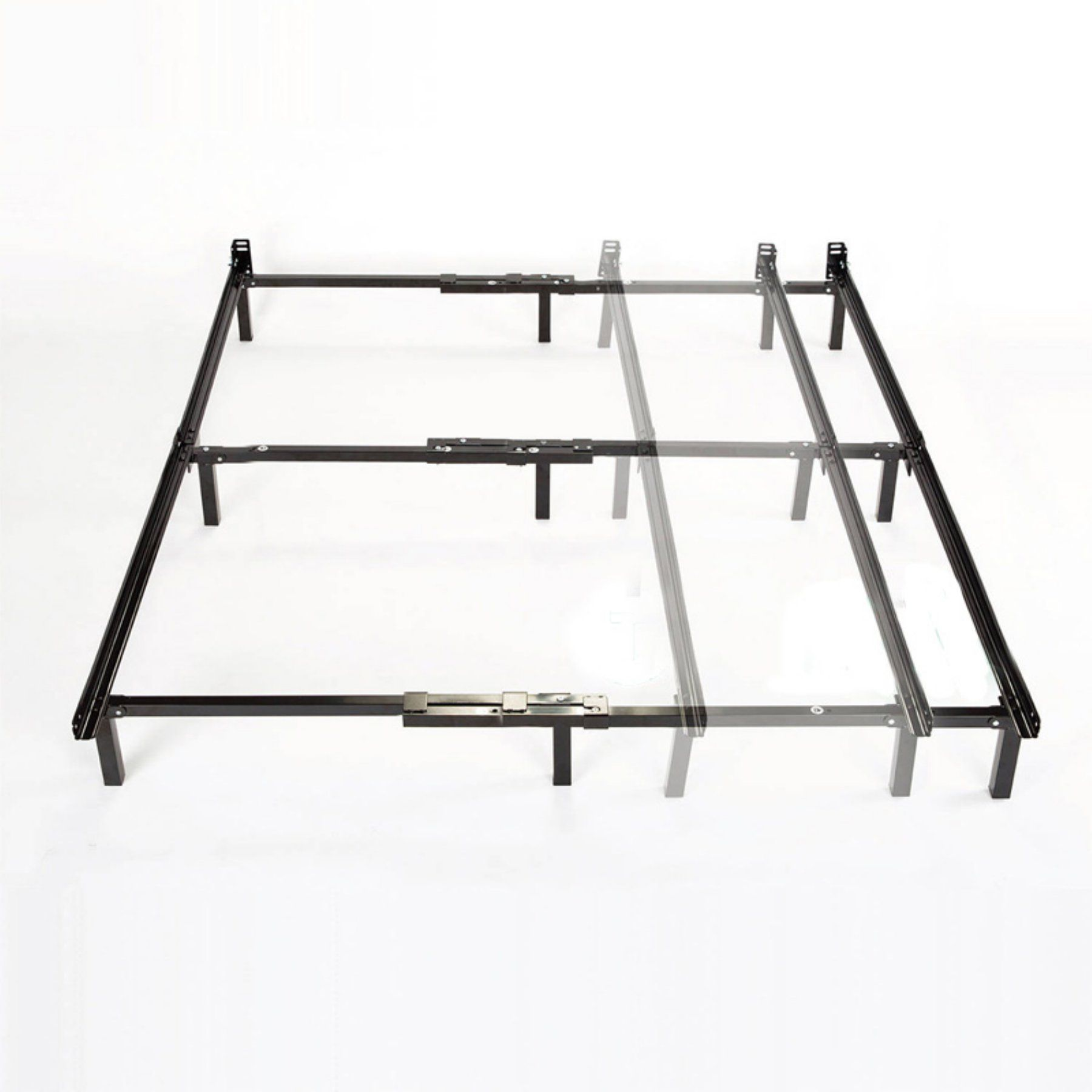 Spa Sensations 7 In Low Profile Adjustable Steel Bed Frame