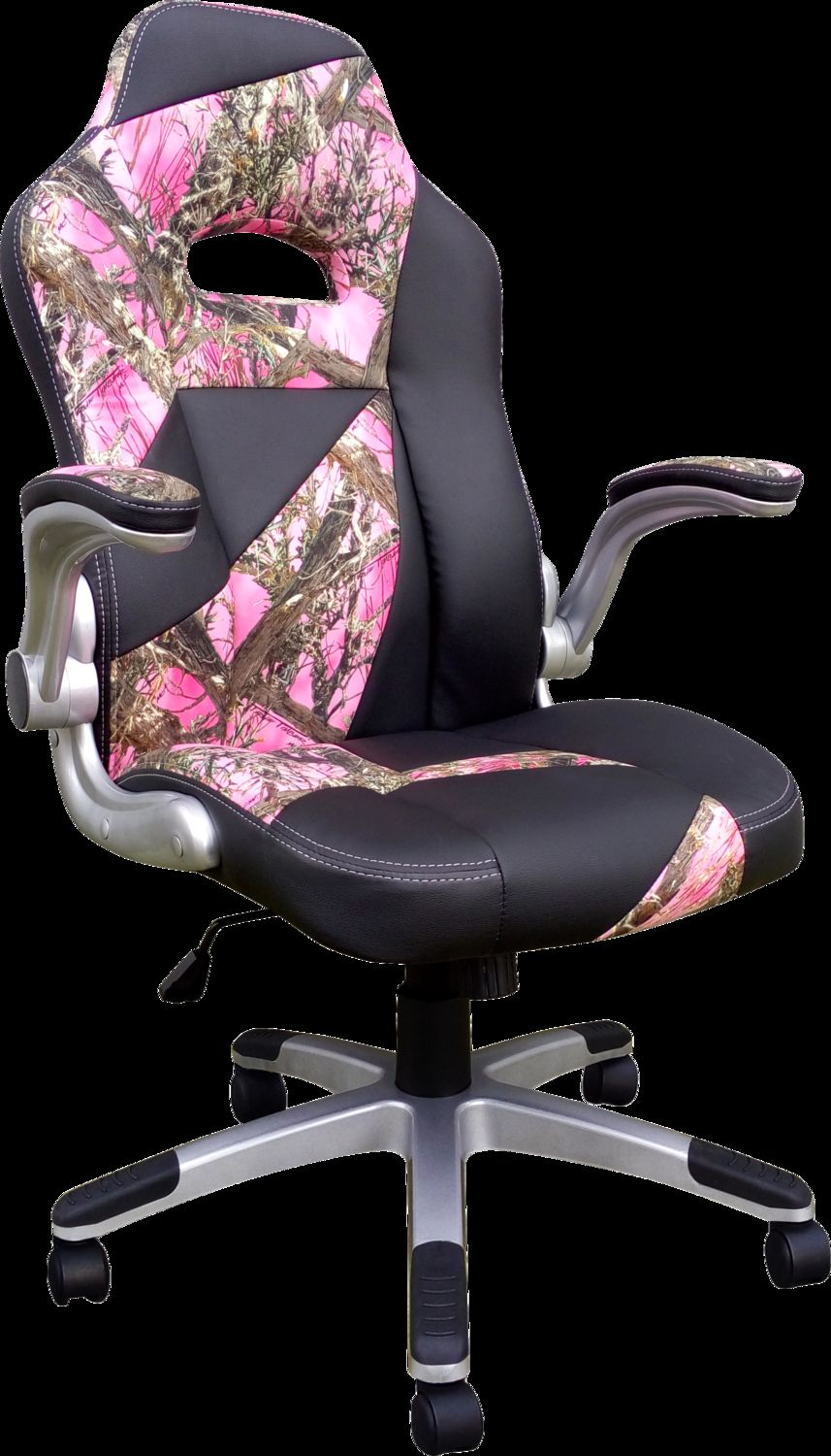 Pink Camo Office Chair Office chair, Office desk chair
