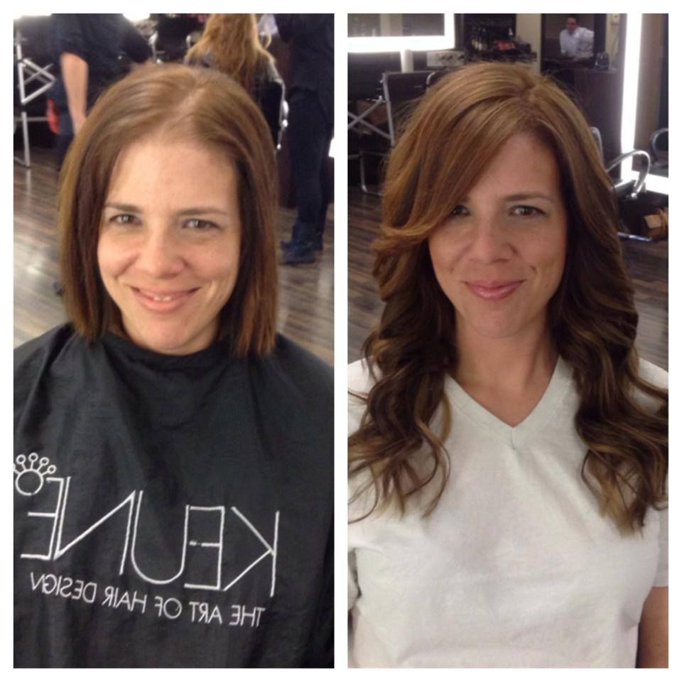 Cold Fusion Hair Extensions Done At Illusions Color Spa By Karen