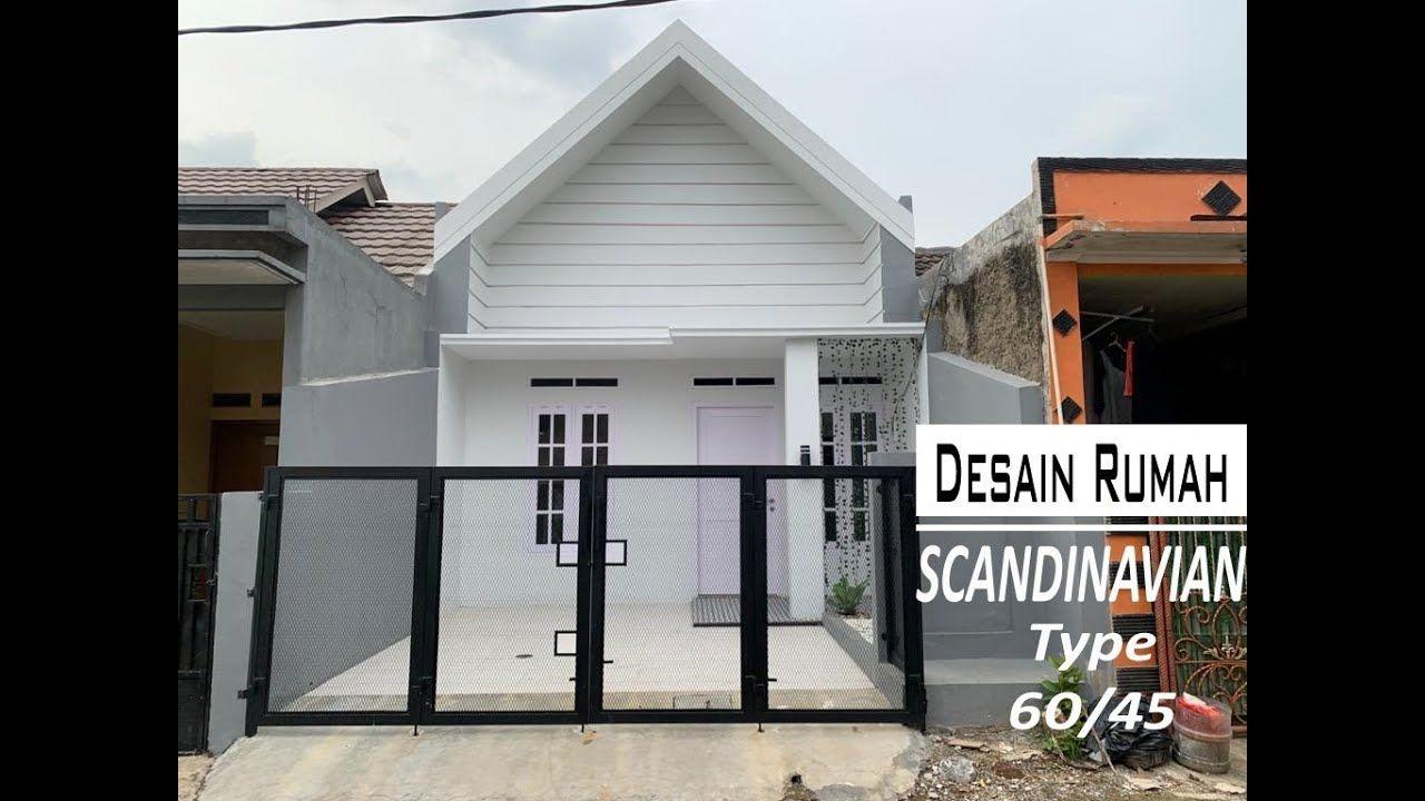 Drm Vlog65 Desain Rumah Luas 60m2 Konsep Rumah Scandinavian Type 60 45 Di 2020 Desain Rumah Rumah Desain