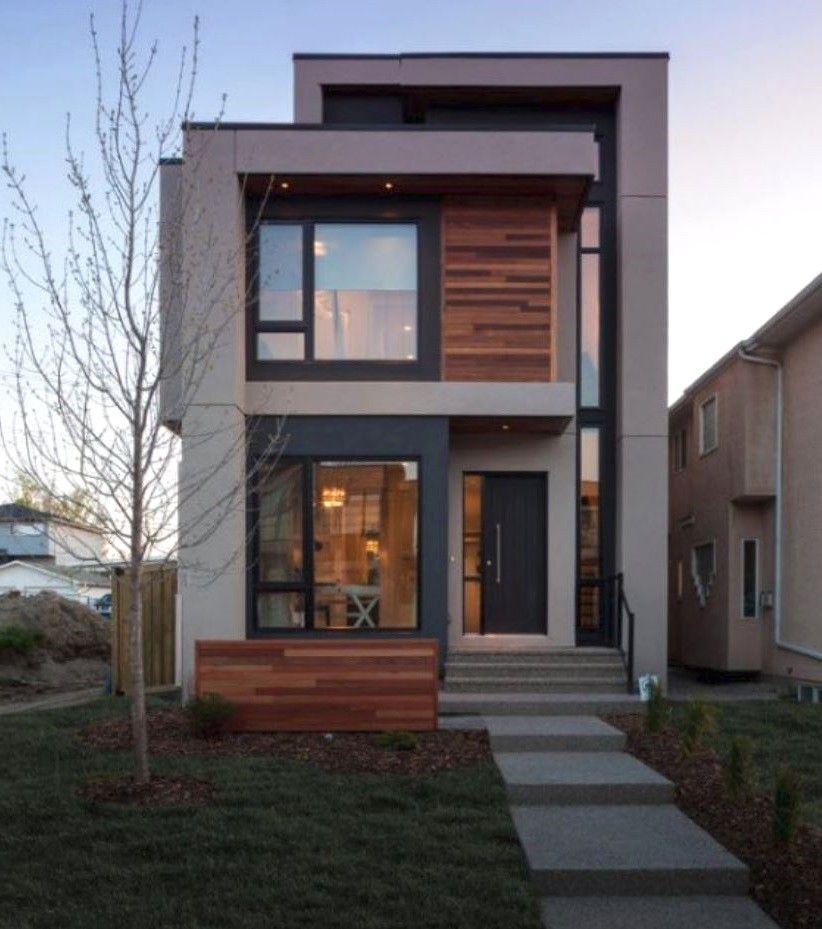 Fachadas de casas modernas de 2 pisos con fachadas casas for Modelos de casas pequenas de 2 pisos