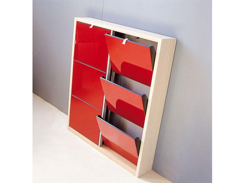 mueble zapatero de 6 puertas mueble zapatero para