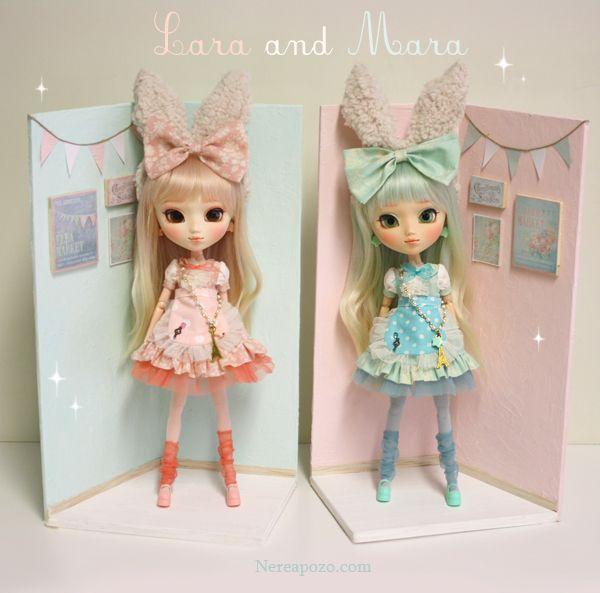 Nerea Pozo Art Custom Pullip Doll Mara Duette By Nerea
