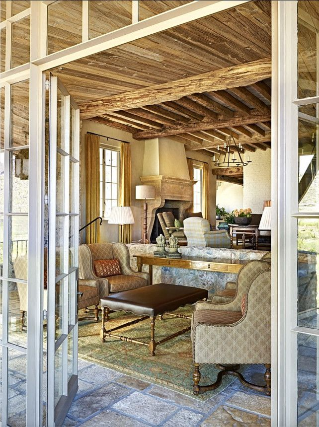 Rustic French Inteiors I am in love