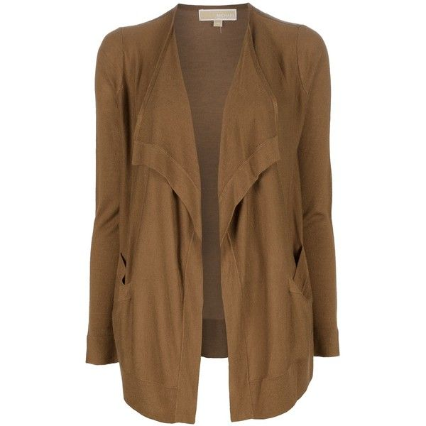 MICHAEL KORS open front cardigan found on Polyvore