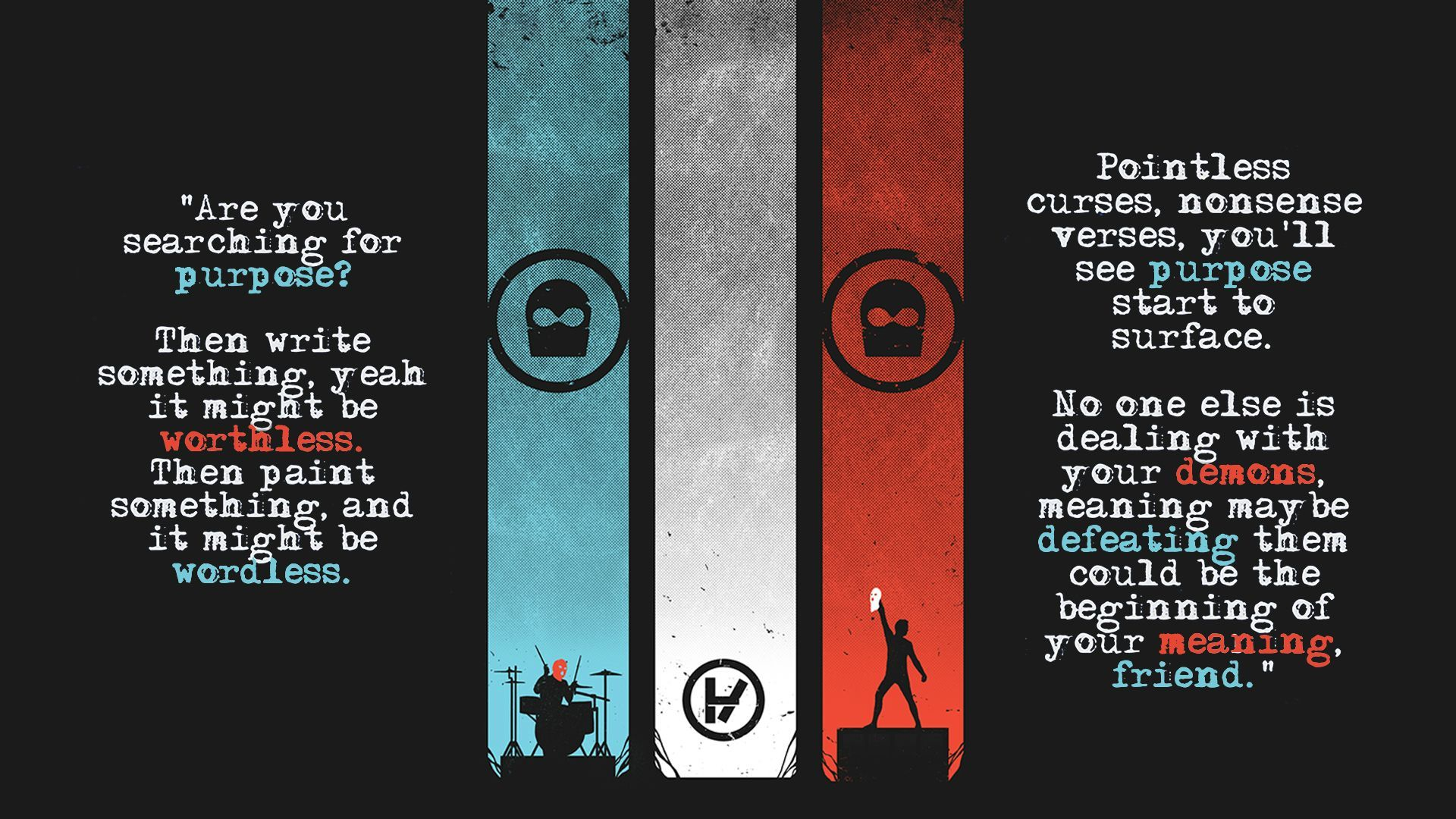 twenty one pilots desktop wallpaper google search skeleton rh pinterest com