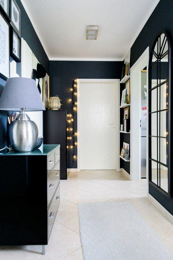 blick in den flur foto sabrinashome solebich flur ideen gestalten garderobe. Black Bedroom Furniture Sets. Home Design Ideas