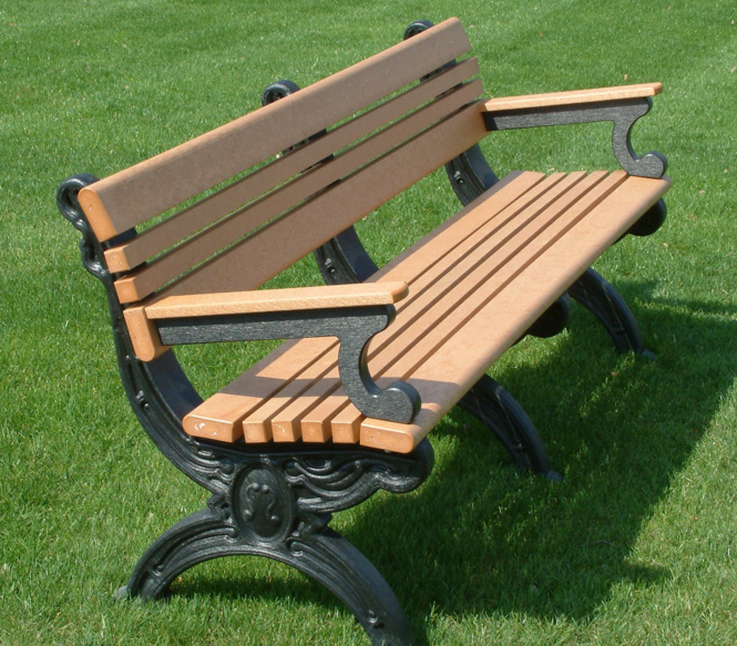Commercial Park Benches The Arms And Legs Of This Stool Has A Wonderful Carved Design And Stainless Steel Fastene Park Bench Memorial Benches Park Bench Design