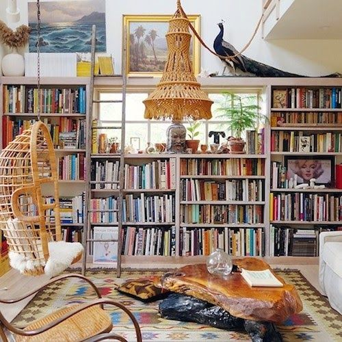 Fun And Cozy Library Design By Yta: Home Libraries, Bookshelves