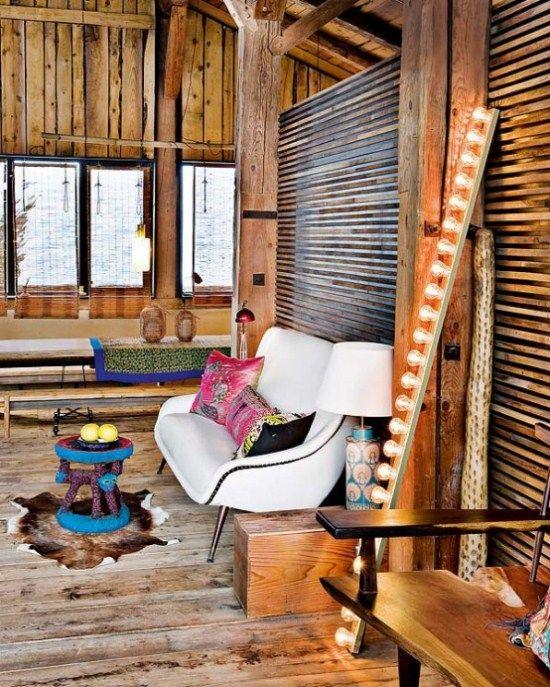 Interior Rumah Kayu : interior, rumah, Desain, Rumah, Dengan, Interior, Interior,