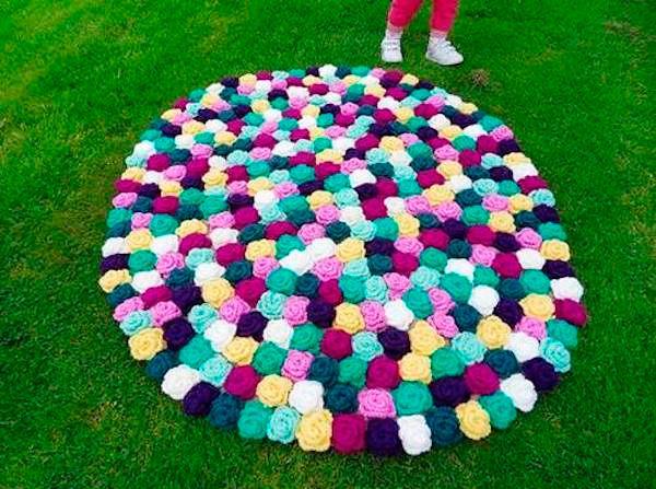5 alfombras infantiles caseras alfombras infantiles for Alfombras artesanales tejidas a mano